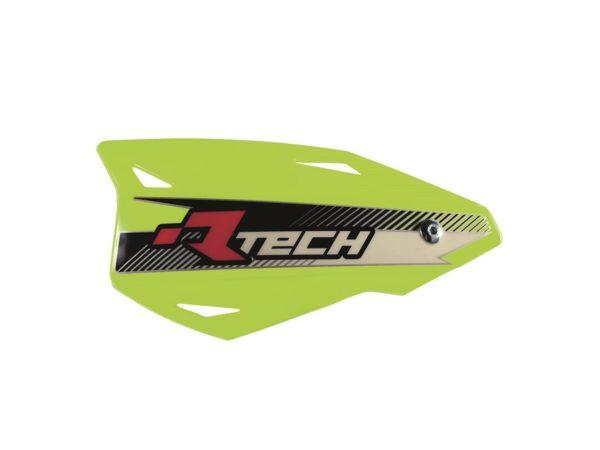 protege-mains mx rtech vertigo reglable neon jaune fluo