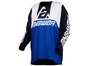 maillot motocross enduro answer trinity voyd reflex-black-white