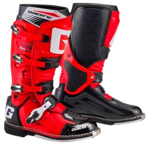 bottes motocross enduro gaerne sg 10 red-black