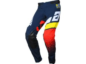 pantalon motocross enduro answer elite korza midnight-white-yellow-red