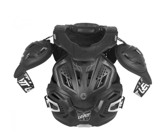 protection intégrale leatt fusion 3.0 noir