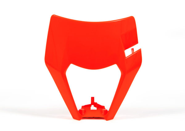 plastique-de-plaque-phare-racetech-orange-fluo-ktm-exc-exc-f