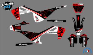 kit-deco-SL-HVA - black-red-arrow
