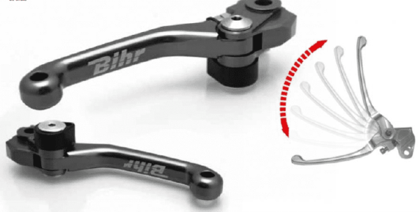 levier frein et embrayage repliable bihr