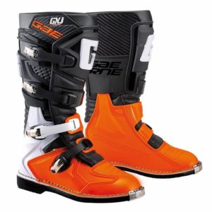 bottes enfants motocross mx gaerne gxj black-orange