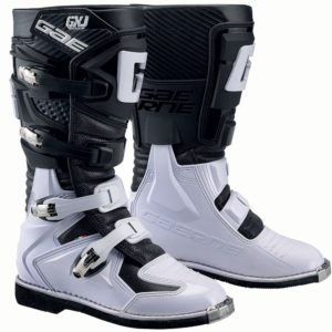 bottes enfants motocross mx gaerne gxj black-white