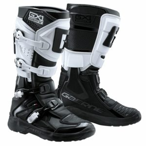 bottes motocross enduro gaerne gx1 evo black-white