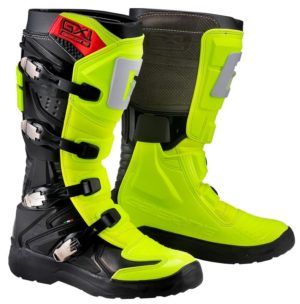 bottes motocross enduro gaerne gx1 evo neon yellow