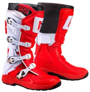 bottes motocross enduro gaerne gx1 evo red