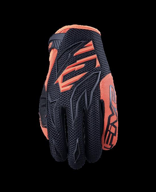gant-enfants-youth-kid-motocross-enduro-five-gloves-mxf3-black-orange