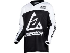 maillot motocross enduro answer arkon ops black-white