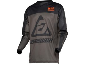 maillot motocross enduro answer arkon ops grey-orange