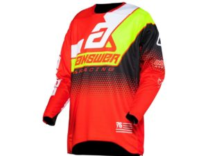 maillot motocross enduro answer elite korza red-white-acid-black