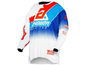 maillot motocross enduro answer elite korza white-red-blue-reflex