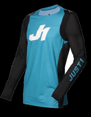 maillot motocross enduro just 1 j-flex jersey aria-blue-black