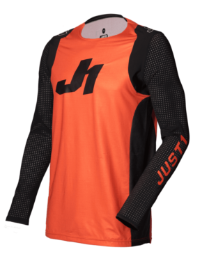maillot motocross enduro just 1 j-flex jersey aria-orange-black