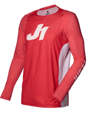 maillot motocross enduro just 1 j-flex jersey aria-red-white