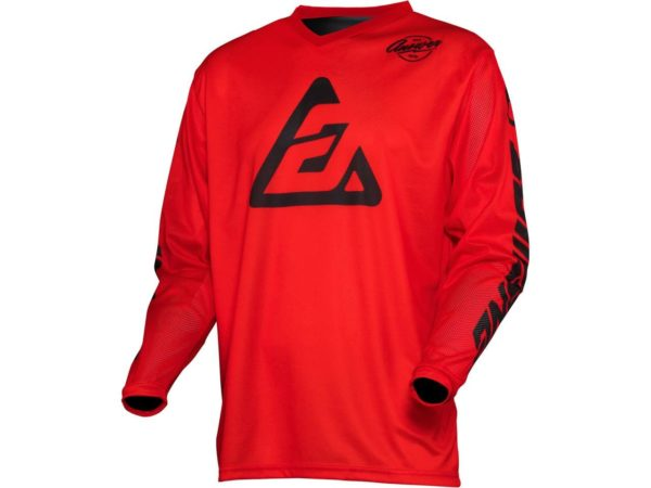 maillot motocross enduro mx answer arkon bold red-black