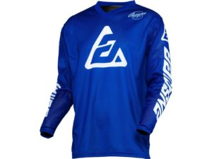 maillot motocross enduro mx answer arkon bold reflex blue-white