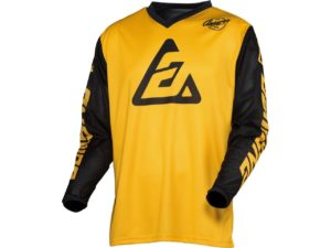 maillot motocross enduro mx answer arkon bold yellow-black