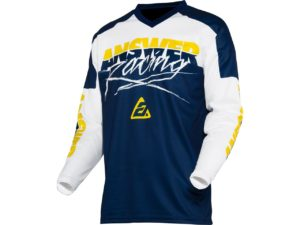 maillot motocross enduro mx answer syncron pro glow yellow-midnight-white