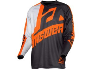 maillot motocross enduro mx answer syncron voyd grey-orange