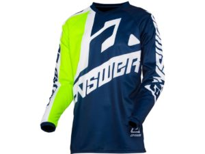 maillot motocross enduro mx answer syncron voyd midnight-acid-white