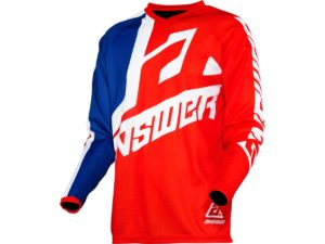 maillot motocross enduro mx answer syncron voyd red-reflex-white