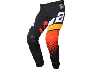 pantalon motocross enduro answer elite korza black-white-yellow-red
