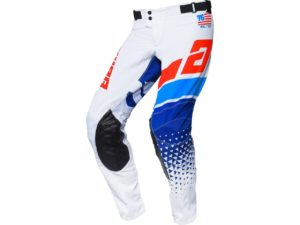 pantalon motocross enduro answer elite korza white-red-blue-reflex