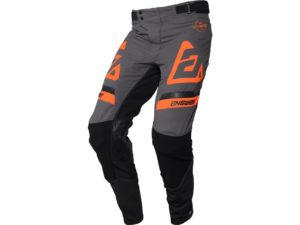 pantalon motocross enduro answer trinity voyd charcoal-hyper orange-black