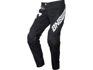 pantalon motocross enduro mx answer arkon bold black-white
