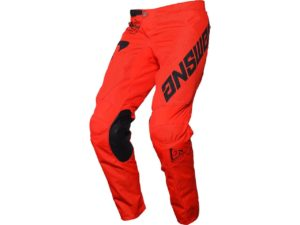 pantalon motocross enduro mx answer arkon bold red-black