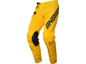 pantalon motocross enduro mx answer arkon bold yellow-black