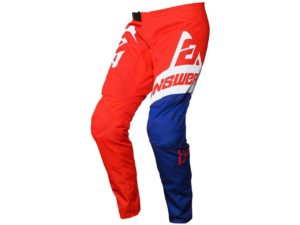 pantalon motocross enduro mx answer syncron voyd red-reflex-white