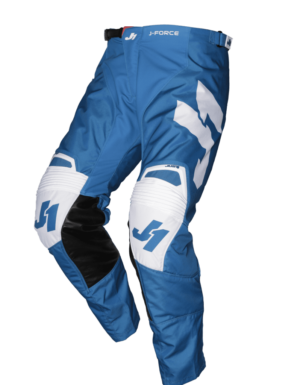pantalon offroad motocross enduro just 1 j-force pants terra-blue-white