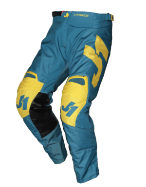 pantalon offroad motocross enduro just 1 j-force pants terra-blue-yellow