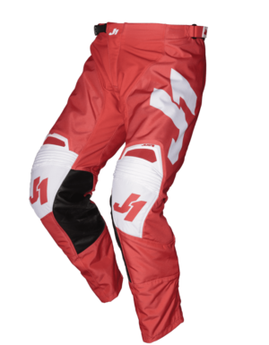 pantalon offroad motocross enduro just 1 j-force pants terra-red-white