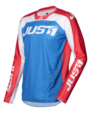 pantalon offroad motocross just 1 j-force maillot-terra-blue-red-white