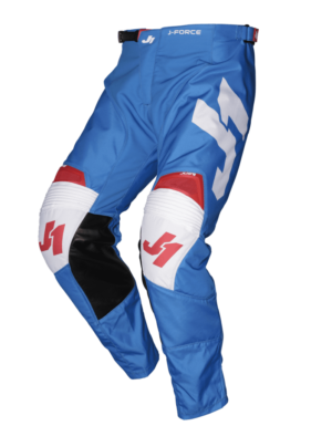 pantalon offroad motocross just 1 j-force pants terra-blue-red-white
