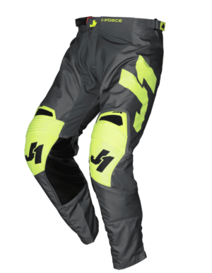 pantalon offroad motocross just 1 j-force pants terra-dark-grey-fluo-yellow