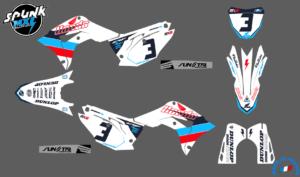 kit-deco-evo-blue-red-honda-250-450 - 17-20