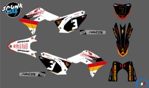 kit-deco-evo-yellow-honda-250-450 - 17-20