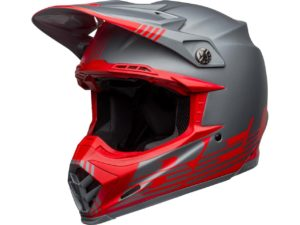 bell-moto-9-flex-louver-matte-gray-red