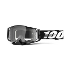 armega motocross black-clear-lens