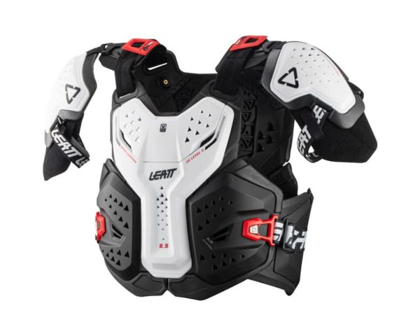 pare-pierre-plastron-motocross-leatt-6.5-blanc-white