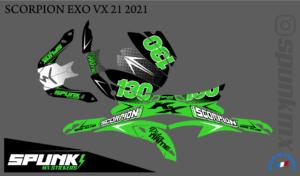 kit-déco-casque-Scorpion-EXO-VX-21-air-factory-one