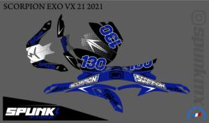 kit-déco-casque-Scorpion-VX-20-21-factory-two-blue
