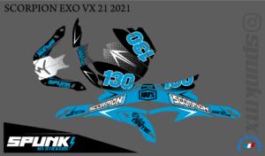 kit-déco-casque-Scorpion-VX-20-21-factory-two-cyan