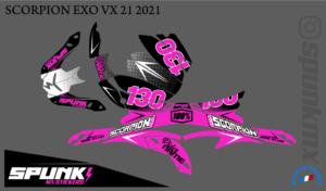 kit-déco-casque-Scorpion-VX-20-21-factory-two-pink